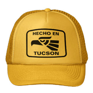Hecho en Tucson personalizado custom personalized Hat