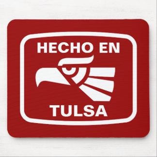 Hecho en Tulsa personalizado custom personalized Mouse Pads