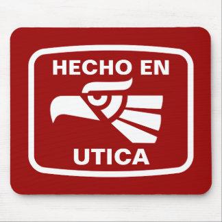 Hecho en Utica personalizado custom personalized Mouse Mats