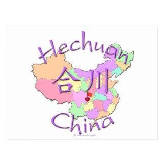 Hechuan China Postcards
