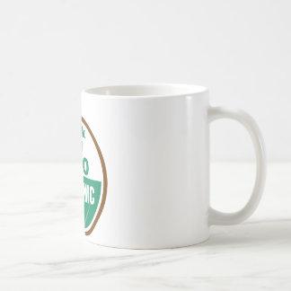Heck No GMO Orgainc Basic White Mug
