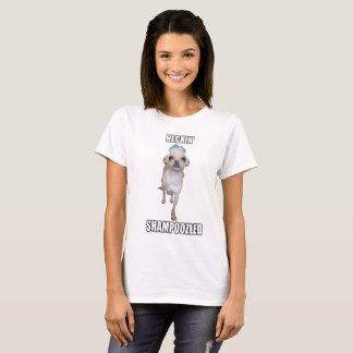 Heckin' Shampoozled Chihuahua Pupper! T-Shirt