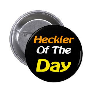 Heckler Evangelism Button