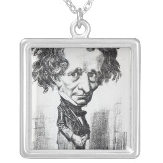 Hector Berlioz Silver Plated Necklace