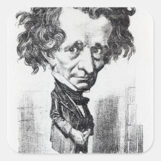 Hector Berlioz Square Sticker
