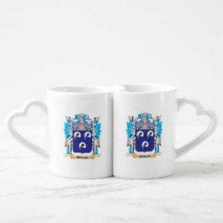 Hedge Coat of Arms - Family Crest Coffee Mug Set