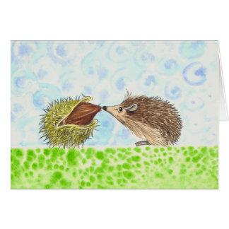Hedgehog #2 card