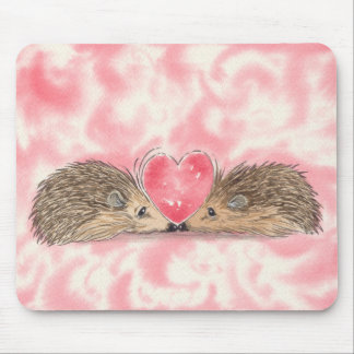 Hedgehog #4 by Russ Billington Mouse Mat