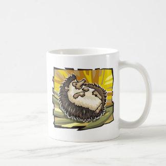 Hedgehog Basic White Mug