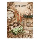 Hedgehog Christmas Card - Part 2