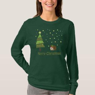Hedgehog Christmas Sweater.Hedgehog Christmas T Shirts Shirt Designs Zazzle Uk