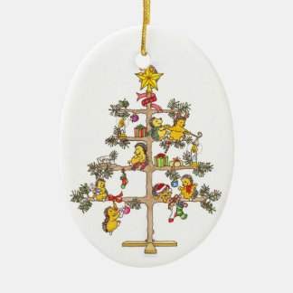 Hedgehog Christmas tree Christmas Ornament