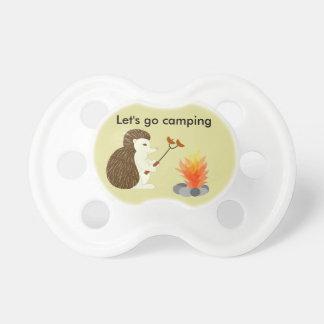 Hedgehog cookout pacifier