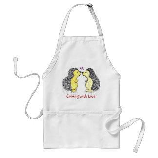 Hedgehog Cooks Aprons