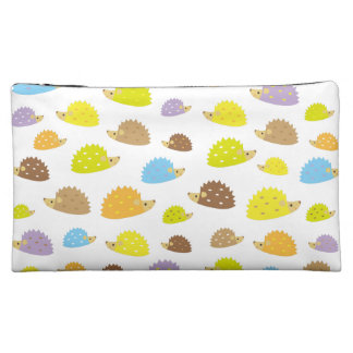 hedgehog cosmetic bags