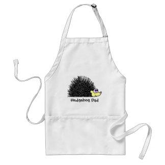 Hedgehog Dad Apron / Smock