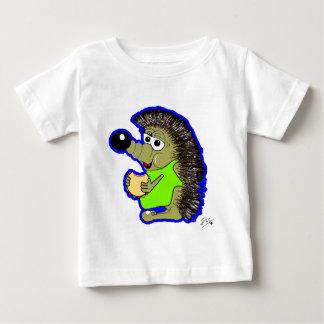 hedgehog dark blue baby T-Shirt