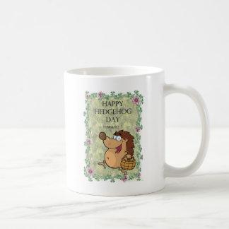 Hedgehog Day February 2 Basic White Mug