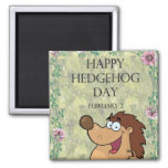 Hedgehog Day February 2 Magnets