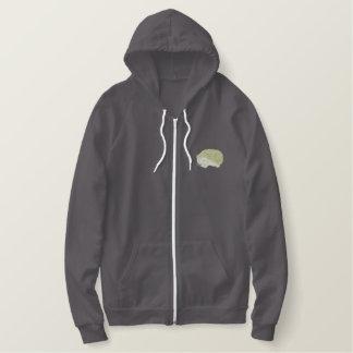 Hedgehog Embroidered Hoodie