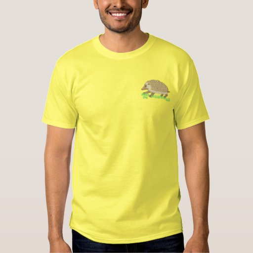Hedgehog Embroidered T-Shirt