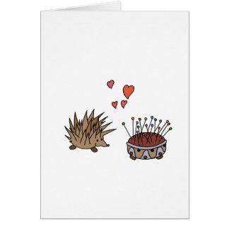 Hedgehog - erizo felicitacion