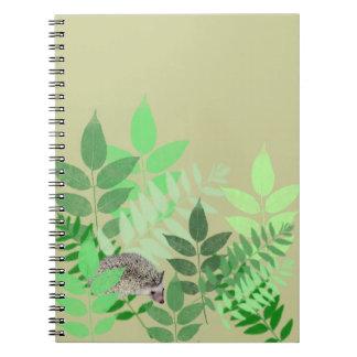 Hedgehog Garden Notebook