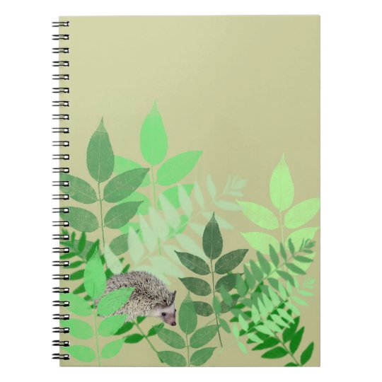 Hedgehog Garden Notebook