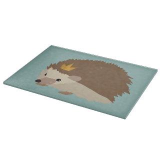 Hedgehog Glass Chopping Board