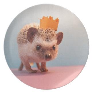 Hedgehog Happiness Plate