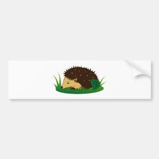 Hedgehog hedgehog bumper sticker