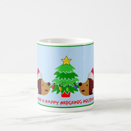 HEDGEHOG HOLIDAY! COFFEE MUG