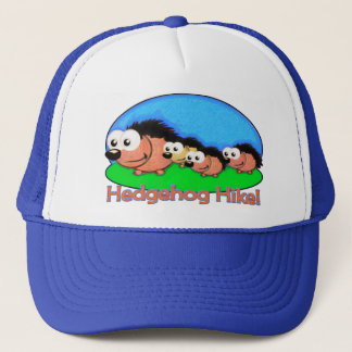 Hedgehog Holiday Hike Trucker Hat