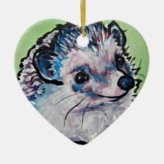 hedgehog.jpg christmas ornament