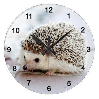 Hedgehog Large Clock