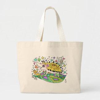 Hedgehog Love☆1 Large Tote Bag