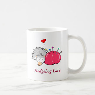 Hedgehog love, Hedgehog Love Coffee Mug