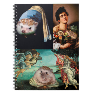 Hedgehog Masterpieces Notebook