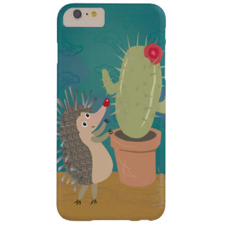Hedgehog Meets Cactus iPhone 6 Plus Case