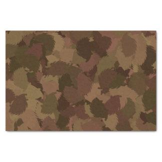 HEDGEHOG modern camouflage Tissue Paper