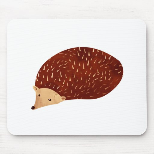 Hedgehog Mouse Pads