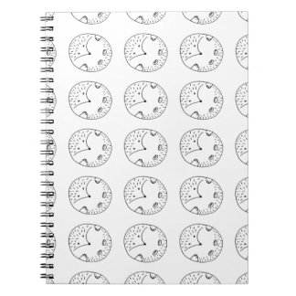 hedgehog notebooks