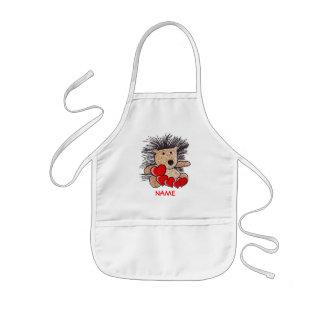 Hedgehog Paint Smock! Kids Apron