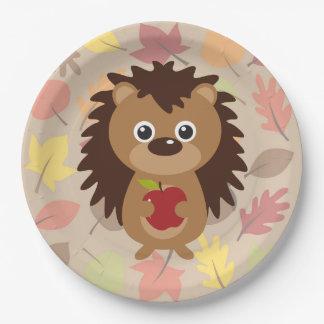 Hedgehog Paper Plate