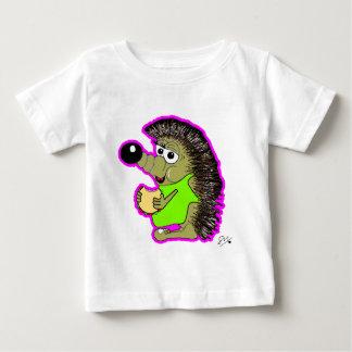 hedgehog pink baby T-Shirt