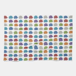 Hedgehog Pop Art Tea Towel