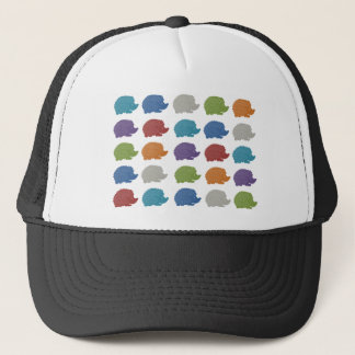 Hedgehog Pop Art Trucker Hat