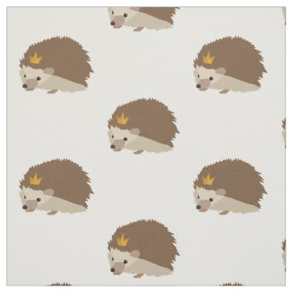 Hedgehog Print Fabric