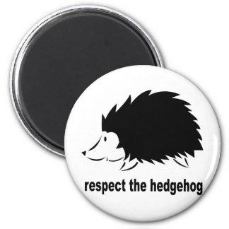Hedgehog - Respect the Hedgehog Magnet