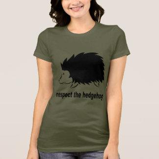 Hedgehog - Respect the Hedgehog T-Shirt